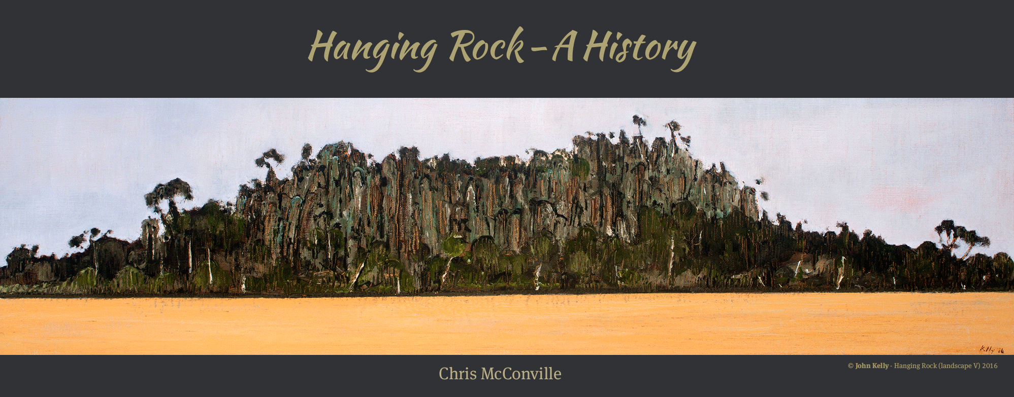 The cover image of Hanging Rock - A History